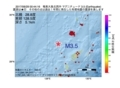 地震震源マップ:2017年06月29日 00時44分 奄美大島北西沖 M3.5