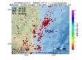 地震震源マップ:2017年06月29日 00時44分 茨城県沖 M3.6