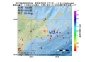 地震震源マップ:2017年06月29日 02時23分 根室地方中部 M3.4