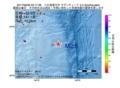 地震震源マップ:2017年06月29日 03時17分 八丈島東方沖 M2.5