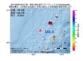 地震震源マップ:2017年06月29日 08時21分 奄美大島北西沖 M4.0
