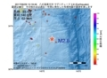 地震震源マップ:2017年06月29日 15時19分 八丈島東方沖 M2.8