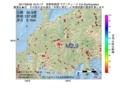 地震震源マップ:2017年06月29日 16時51分 長野県南部 M2.9