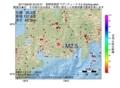 地震震源マップ:2017年06月29日 22時25分 長野県南部 M2.5