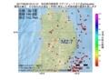 地震震源マップ:2017年06月30日 04時41分 秋田県内陸南部 M2.7