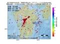 地震震源マップ:2017年06月30日 05時25分 宮崎県北部山沿い M3.4
