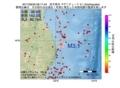 地震震源マップ:2017年06月30日 08時17分 岩手県沖 M3.1