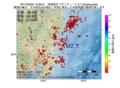 地震震源マップ:2017年06月30日 15時28分 茨城県沖 M2.7