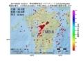 地震震源マップ:2017年06月30日 15時52分 熊本県熊本地方 M3.6