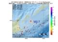 地震震源マップ:2017年06月30日 18時08分 国後島付近 M3.7