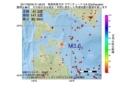 地震震源マップ:2017年06月30日 21時48分 青森県東方沖 M3.6