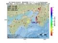 地震震源マップ:2017年06月30日 23時06分 徳島県南部 M4.9