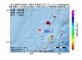 地震震源マップ:2017年06月30日 23時38分 奄美大島北西沖 M4.1