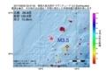 地震震源マップ:2017年06月30日 23時47分 奄美大島北西沖 M3.5