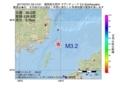 地震震源マップ:2017年07月01日 03時14分 福岡県北西沖 M3.2