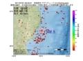 地震震源マップ:2017年07月01日 06時33分 宮城県沖 M2.5