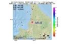 地震震源マップ:2017年07月01日 06時39分 空知地方北部 M3.8