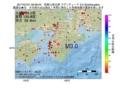 地震震源マップ:2017年07月01日 09時58分 和歌山県北部 M3.0
