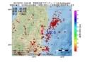 地震震源マップ:2017年07月01日 13時04分 茨城県北部 M2.6