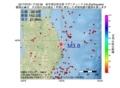 地震震源マップ:2017年07月01日 17時02分 岩手県沿岸北部 M3.8