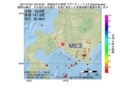 地震震源マップ:2017年07月01日 23時45分 胆振地方中東部 M5.3