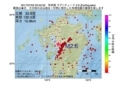 地震震源マップ:2017年07月02日 02時52分 有明海 M2.6