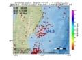 地震震源マップ:2017年07月02日 03時53分 宮城県沖 M4.3