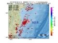 地震震源マップ:2017年07月02日 06時12分 福島県沖 M2.6