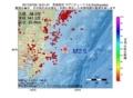 地震震源マップ:2017年07月02日 16時01分 茨城県沖 M2.6