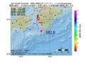 地震震源マップ:2017年07月02日 18時02分 和歌山県南方沖 M2.6