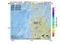 地震震源マップ:2017年07月03日 12時20分 青森県西方沖 M3.1