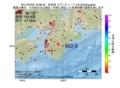 地震震源マップ:2017年07月03日 16時09分 奈良県 M2.8