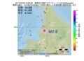 地震震源マップ:2017年07月03日 16時29分 留萌地方南部 M2.8