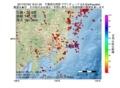 地震震源マップ:2017年07月03日 19時51分 千葉県北西部 M2.6