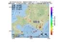 地震震源マップ:2017年07月04日 04時37分 胆振地方中東部 M2.8