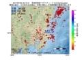 地震震源マップ:2017年07月04日 06時12分 茨城県南部 M2.5