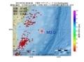 地震震源マップ:2017年07月04日 08時56分 三陸沖 M3.0