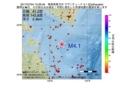 地震震源マップ:2017年07月04日 15時26分 青森県東方沖 M4.1