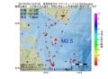 地震震源マップ:2017年07月04日 15時37分 青森県東方沖 M2.5