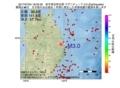 地震震源マップ:2017年07月04日 18時33分 岩手県沿岸北部 M3.0