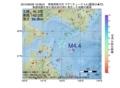 地震震源マップ:2015年06月26日 19時38分 青森県東方沖 M4.4