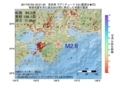 地震震源マップ:2017年07月04日 23時21分 奈良県 M2.6