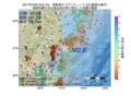 地震震源マップ:2017年07月05日 04時51分 福島県沖 M2.6