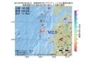 地震震源マップ:2017年07月05日 05時59分 青森県西方沖 M2.5