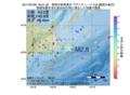 地震震源マップ:2017年07月05日 18時51分 根室半島南東沖 M2.8