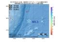 地震震源マップ:2017年07月05日 21時12分 福島県沖 M3.3
