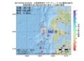 地震震源マップ:2017年07月05日 23時00分 北海道南西沖 M2.6