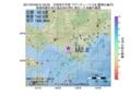 地震震源マップ:2017年07月06日 01時52分 日高地方中部 M2.8