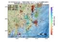 地震震源マップ:2017年07月06日 02時44分 千葉県北西部 M2.6