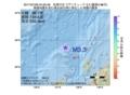 地震震源マップ:2017年07月06日 04時50分 佐渡付近 M3.3